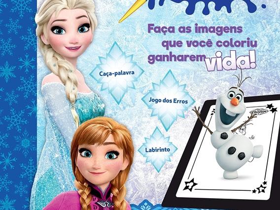 Lançamentos de junho: Coquetel - Disney, livros interativos e de colorir