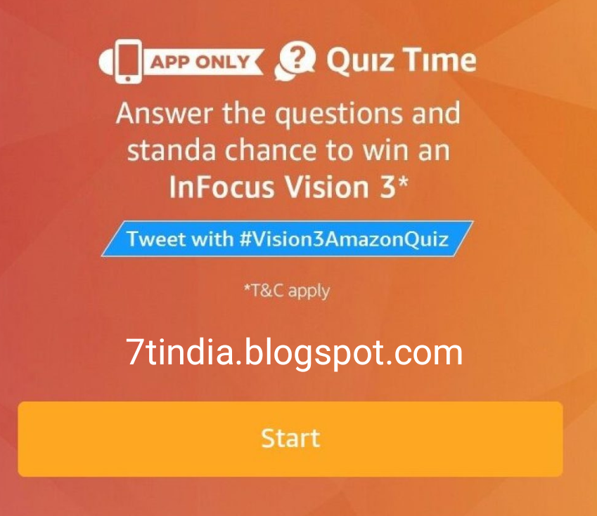 cheap for discount cbcce d9601 Full answers) Amazon Infocus Vision 3 Quiz on 18th December 2017 ...