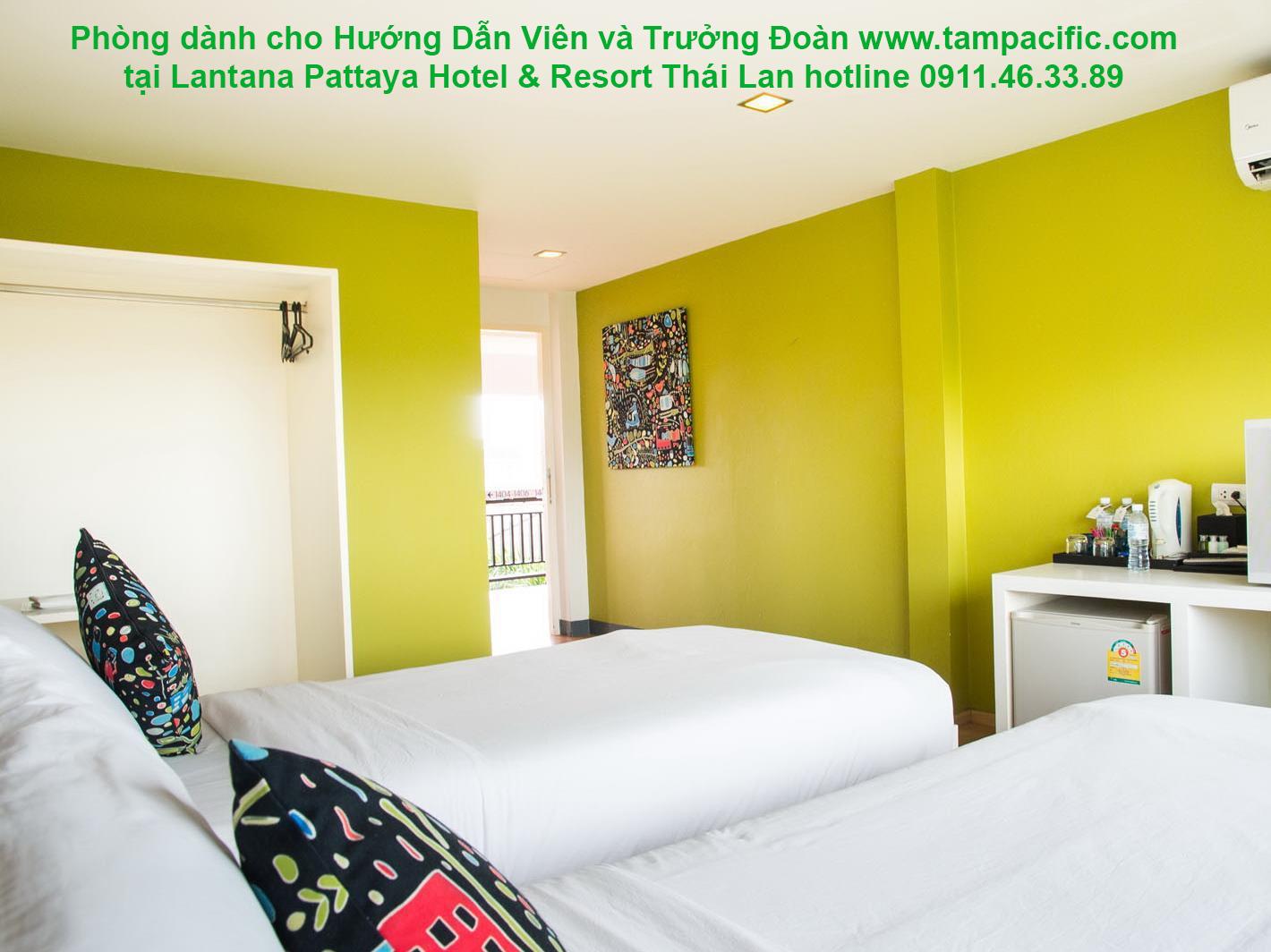 Khách sạn Lantana Pattaya Hotel & Resort tại Pattaya