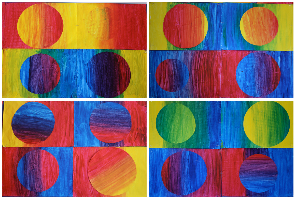 Art With Mr Hall Primary Colour Gradients