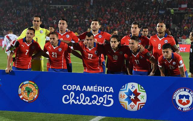 Formación de Chile ante Perú, Copa América 2015, 29 de junio