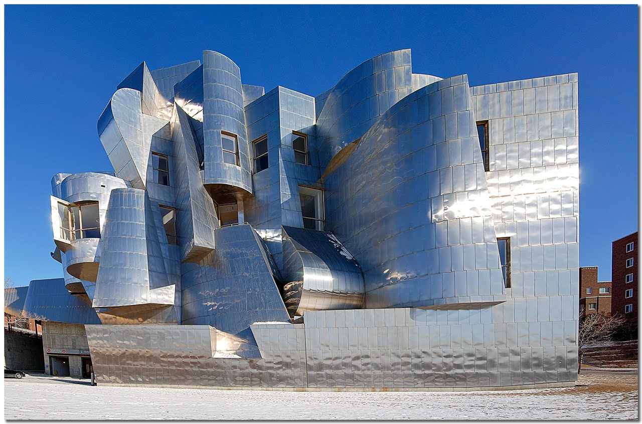 Frank Gehry Architecture I Feel Like A Newborn Child Deconstructivism