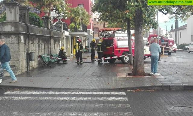 Se incendia una cafetería en San Andrés y Sauces