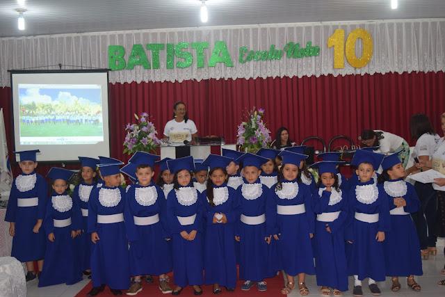 Colégio Batista de Pentecoste realiza formatura do ABC 2018 (Veja as fotos)