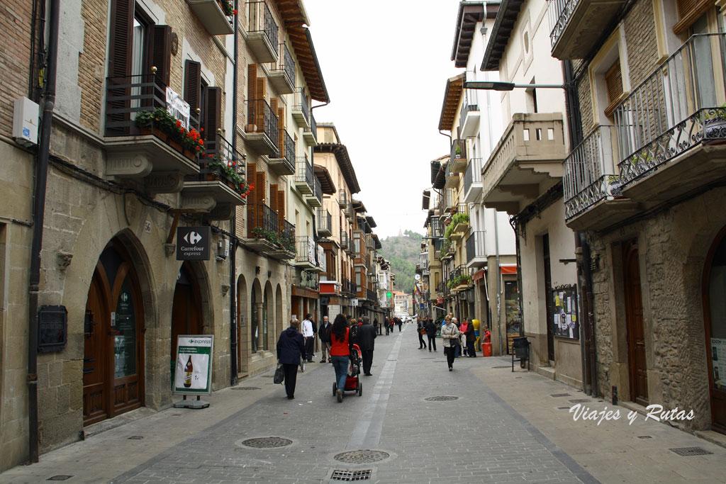 Calle Mayor de Sangüesa