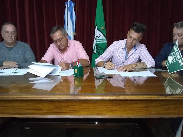 Oficializan a Oscar Garré y Alejandro Saccardi