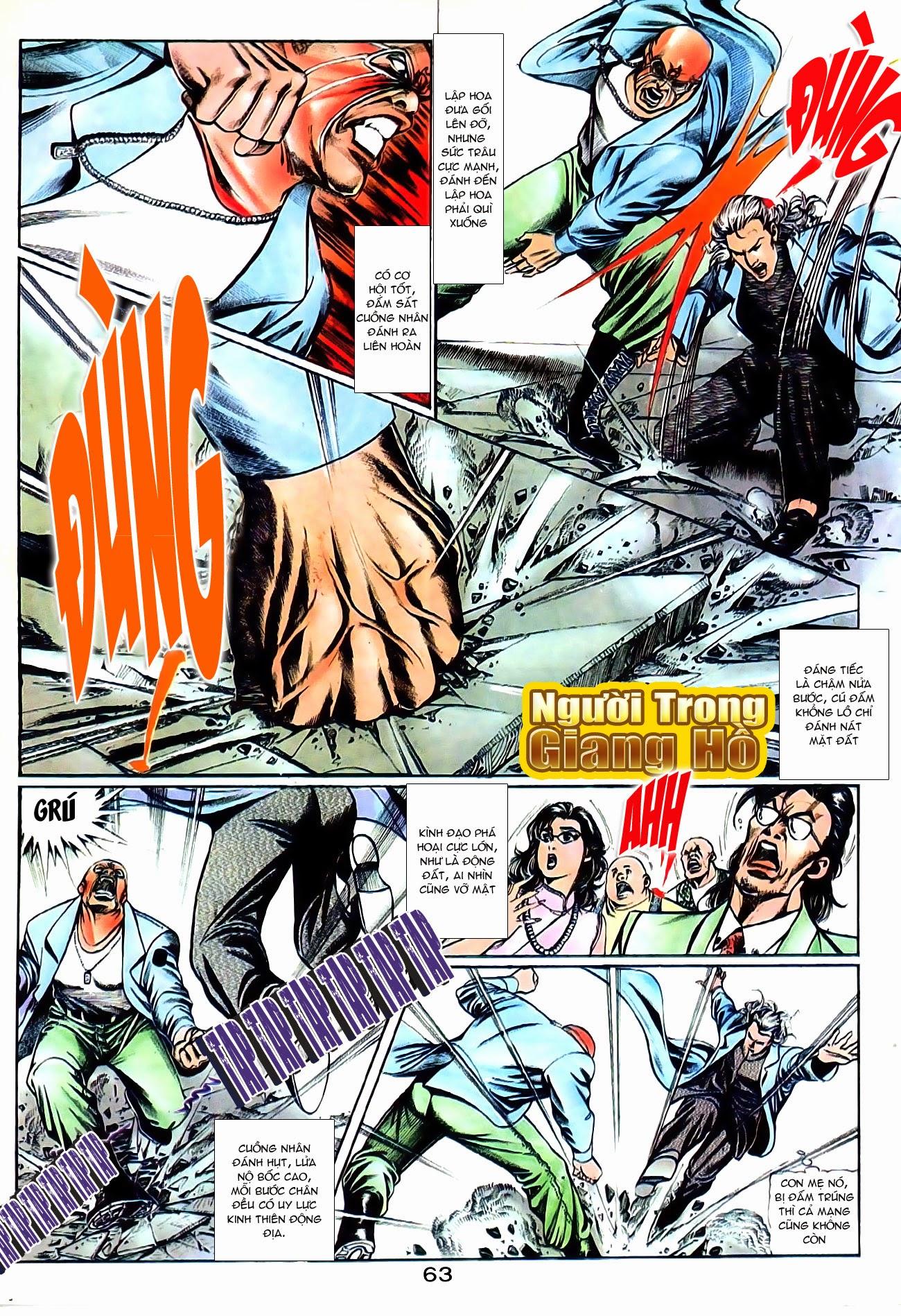 Người Trong Giang Hồ chapter 101: vô địch100% trang 17