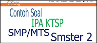 Download Contoh Soal IPA SMP/MTS KTS Kelas 7, 8, Dan 9
