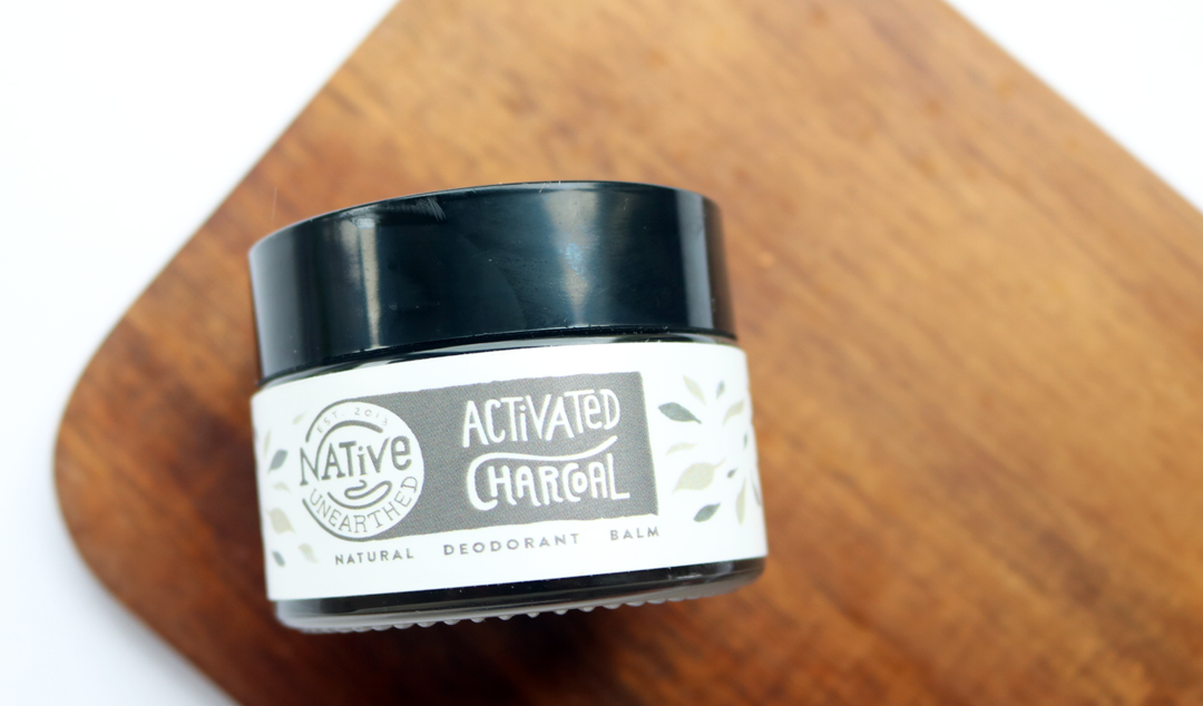 Native Unearthed Activated Charcoal Deodorant Balm