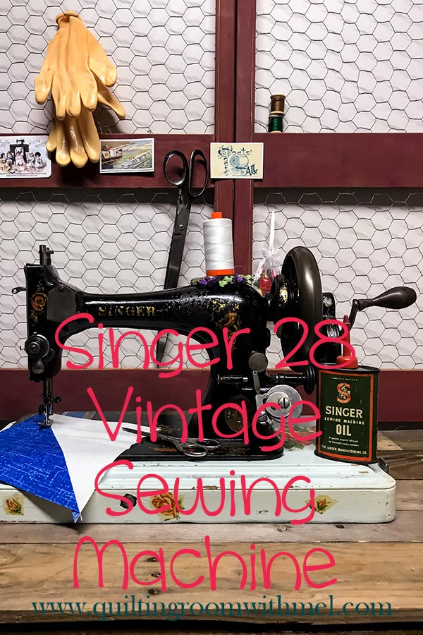 Want to learn more about our Singer 28 vintage sewing machine?