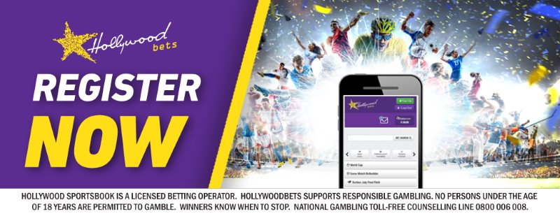 Register Now with Hollywoodbets - Mobile Betting - Sports Betting