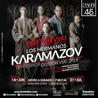 LOS HERMANOS KARAMAZOV | Teatro Libre 2018