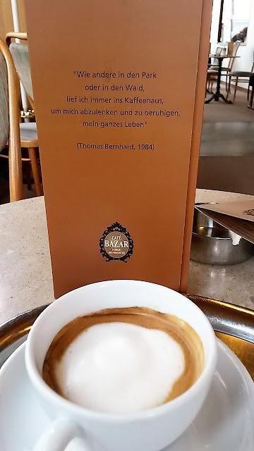 Salzburg Itävalta Austria Cafe Bazar