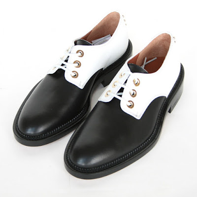 givenchy leather oxford derby shoes