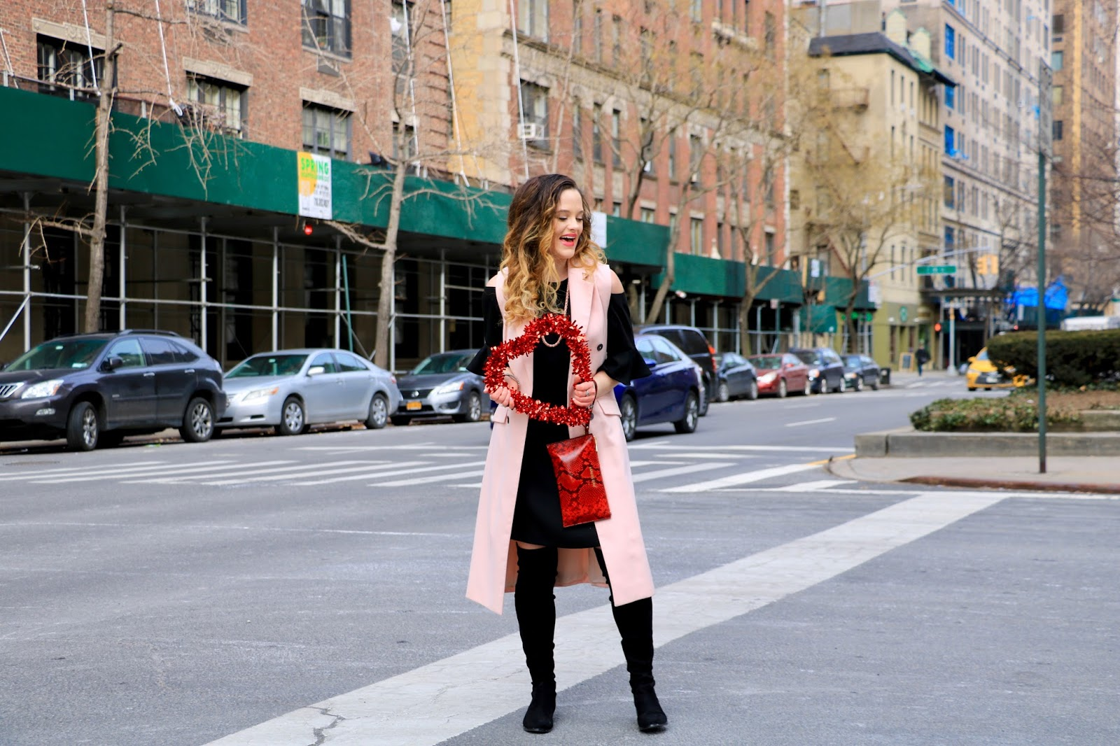 Nyc fashion blogger Kathleen Harper's date night outfit ideas