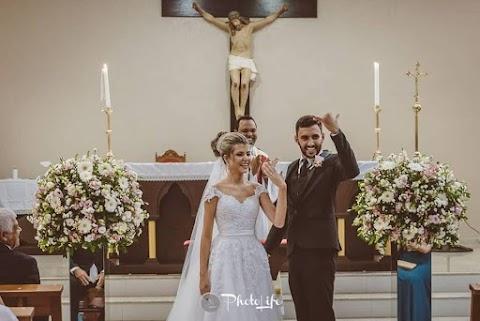 Casal faz festa de casamento com crianças carentes no ES