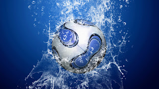 3D ball in the water