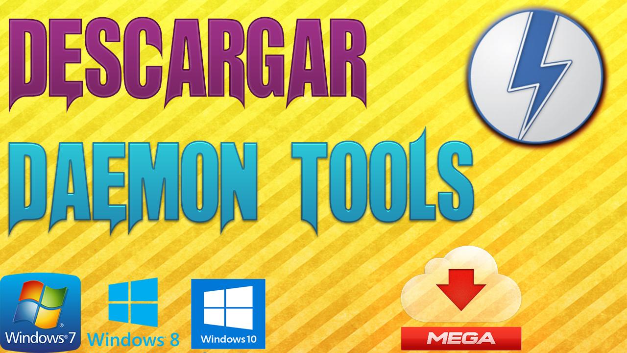 descargar daemon tools 2017 mega
