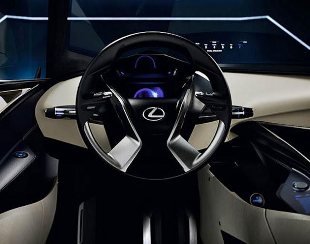 2016 Lexus LF-SA Review