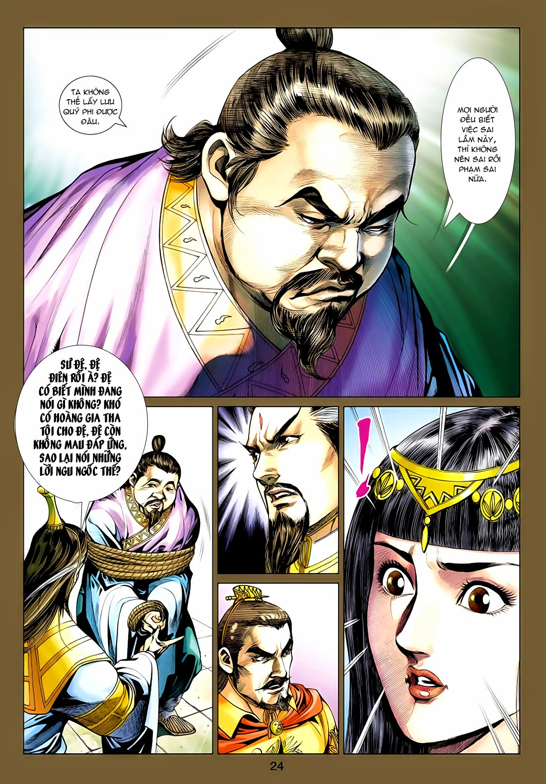Anh Hùng Xạ Điêu anh hùng xạ đêu chap 77: thế thượng tối cường võ công trang 24