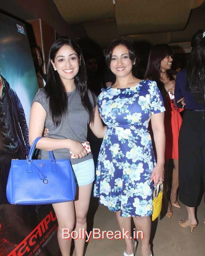 Yami Gautam, Divya Dutta, Hot Images OF Manasvi Mamgai, Huma Qureshi, Sonakshi Sinha At  'Badlapur' Special Screening