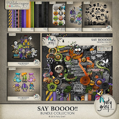 Say Boo from Paty Greif Digital Designer