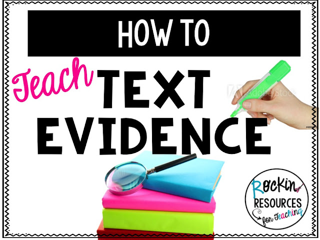 cite evidence with inference, prior knowledge, quoting, paraphrasing