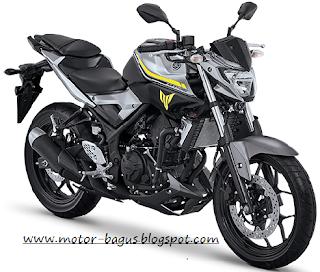 Harga dan spesifikasi motor Yamaha MT 25 Baru