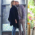 Jennifer Lawrence and director Darren Aronofsky spotted kissing after romantic dinner date in New York