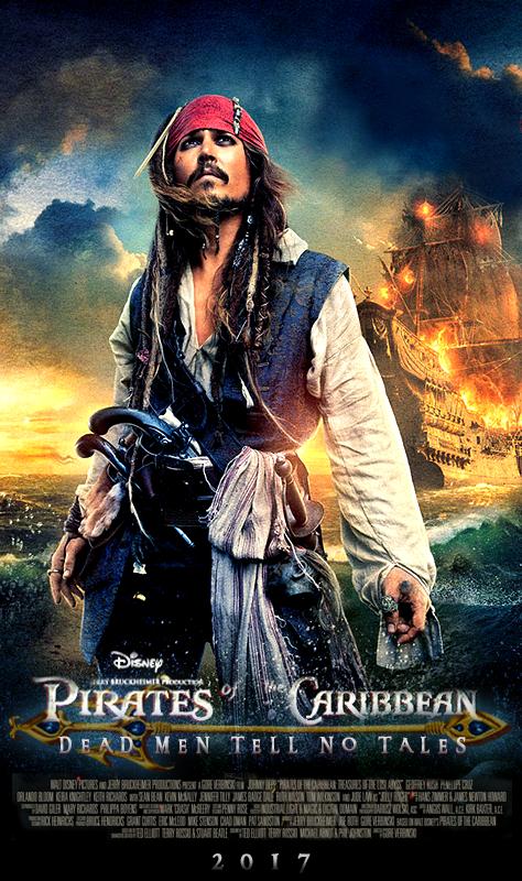 Poster Piraţii Din Caraibe 5