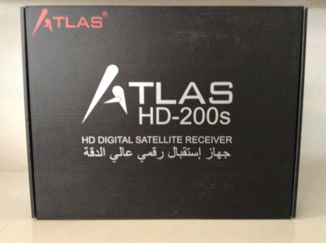 تحديث جديد لجهاز ATLAS 200S HD B123,تحديث جديد لجهاز ,ATLAS 200S HD B123,