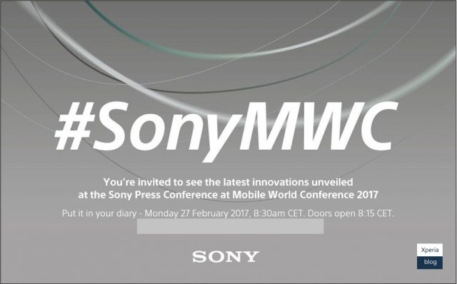 Sony Sends Out Invites To MWC 2017 Event: Mid-range Xperia Phones Expected