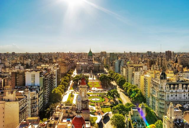 Roteiro de carro por Buenos Aires na Argentina