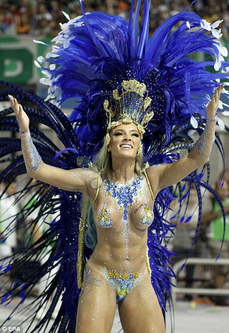 carnival nude Rio 2013