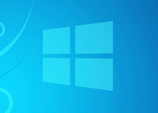 Windows 8 Blue background blue logo: Intelligent Computing