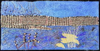 52 Ways to Look at the River, week 36 panel, by Sue Reno