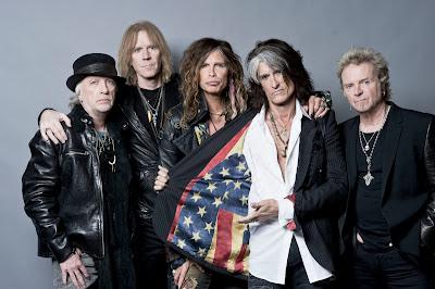 Foto de Aerosmith en la actualidad