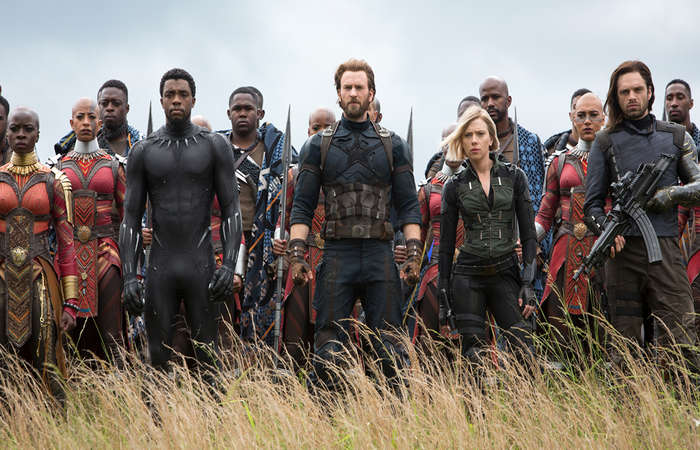 Avengers Infinity War Box Office Look