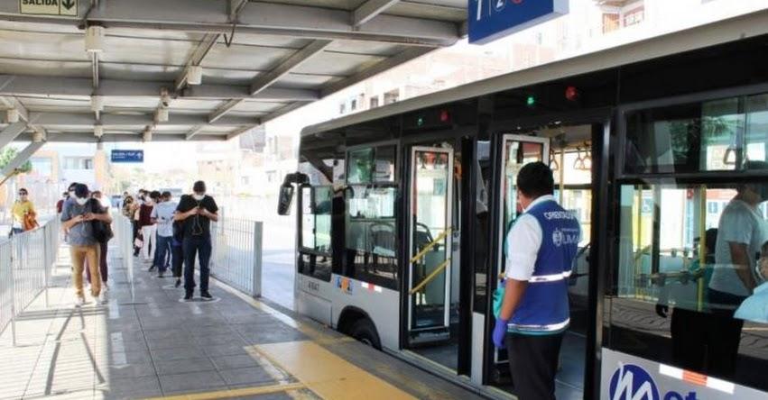 HORARIO DEL METROPOLITANO: Conoce las nuevas salidas del Metropolitano y Corredores Complementarios desde el lunes 11 de mayo