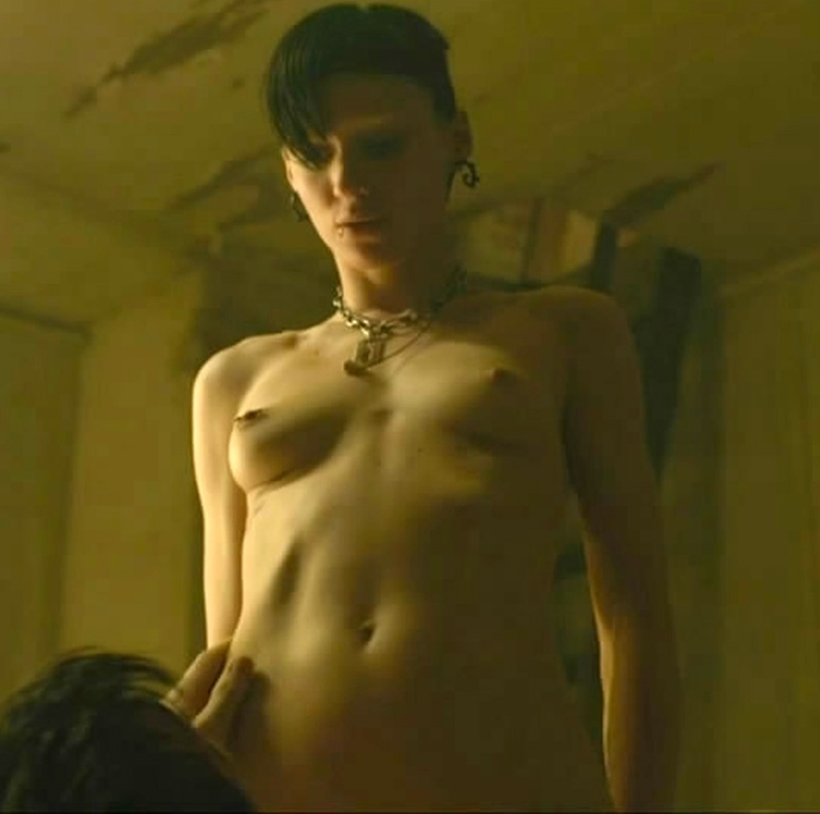 Girl with the dragon tattoo nudity