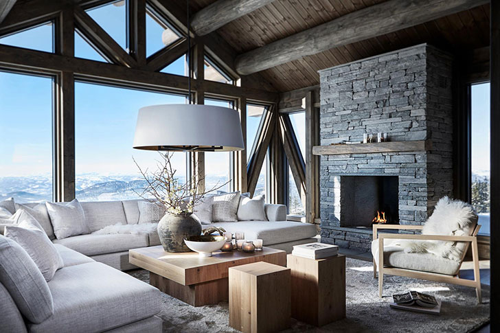 Mountain House In Norway .