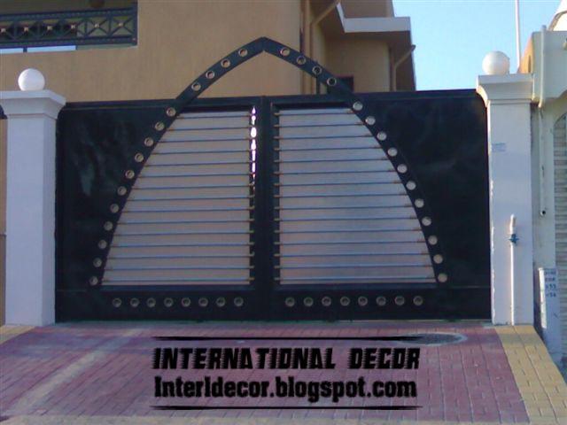 Modern Sliding Iron Gate Designs Uk Sliding Iron Gates Best 2