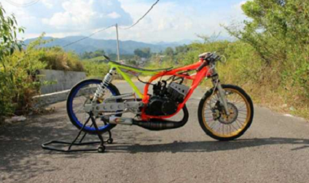 modifikasi drag rx king