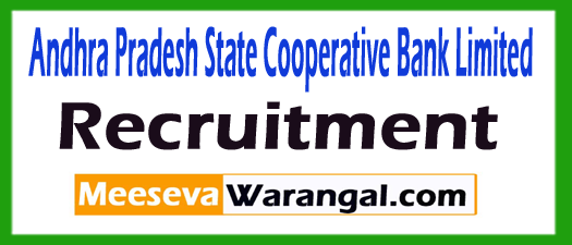 Andhra Pradesh State Cooperative Bank Limited APCOB Recruitment