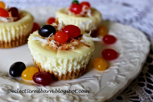 Mini Cheesecakes for Easter