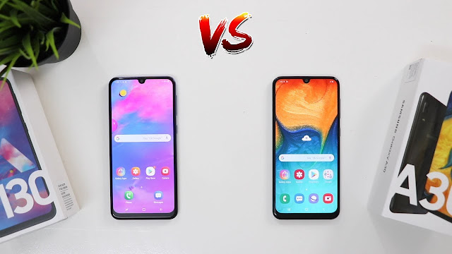 Samsung A30 and Samsung M30 Comparison