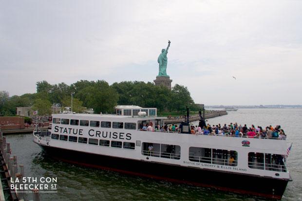 Estatua de la Libertad ferry statue cruises