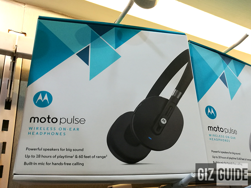 Moto Pulse Spotted, A Good Looking Bluetooth Headphones For PHP 2999!