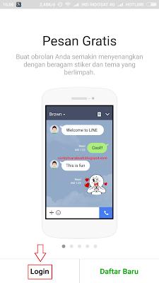 Cara Masuk Akun Line Dengan Facebook Lewat Hp Android