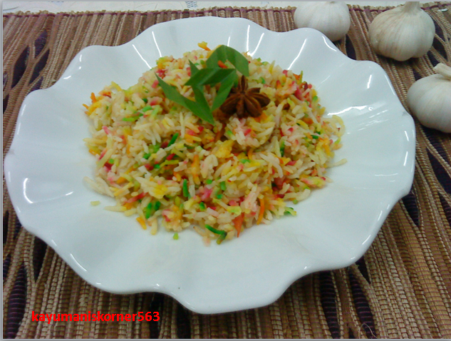 resepi nasi tomato chef hanieliza rasmi sua Resepi Nasi Bukhari Azlita Enak dan Mudah